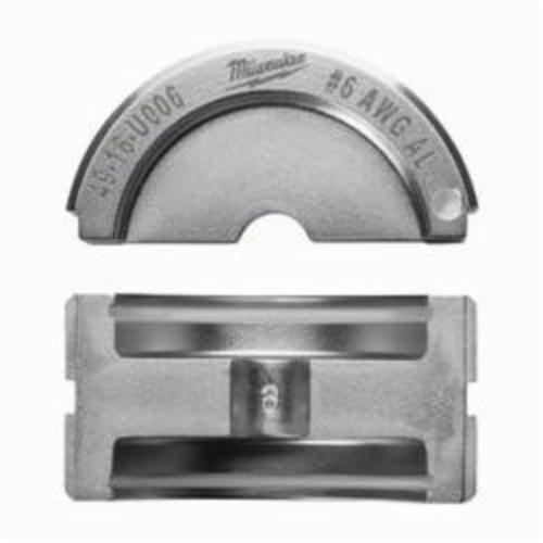 Milwaukee® M18™ 49-16-U006 FORCE LOGIC™ U-Style Crimping Tool Die, 6 AWG Dual Rated Lug/Splice Cable, Aluminum