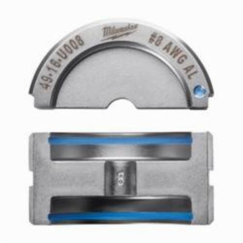 Milwaukee® 49-16-U008 M18™ FORCE LOGIC™ U-Style Crimping Tool Die, 8 AWG Dual Rated Lug/Splice Cable, Aluminum