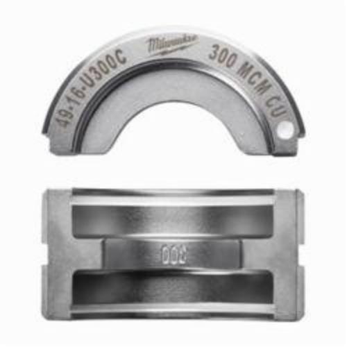 Milwaukee® M18™ 49-16-U300C FORCE LOGIC™ U-Style Crimping Tool Die, 300 kcmil Copper Cable, Aluminum