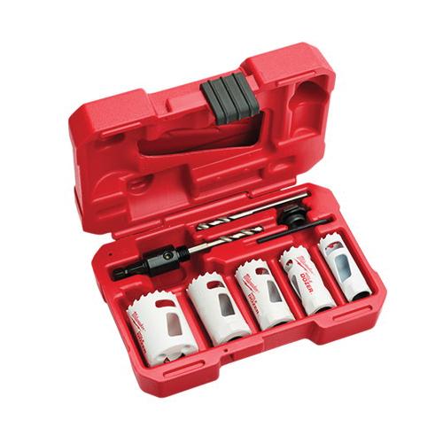 Milwaukee® 49-22-4006 Hole Dozer™ General Purpose Hole Saw Kit, 9 Pieces, Bi-Metal