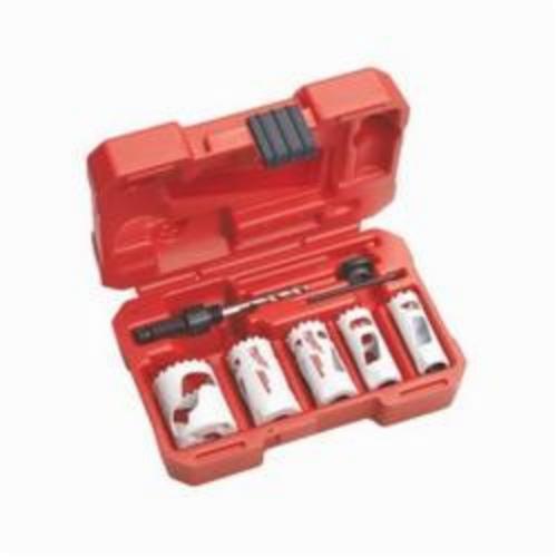Milwaukee® 49-22-4081 HOLE DOZER™ Compact Mechanics Hole Saw Kit, 7 Pieces, Bi-Metal