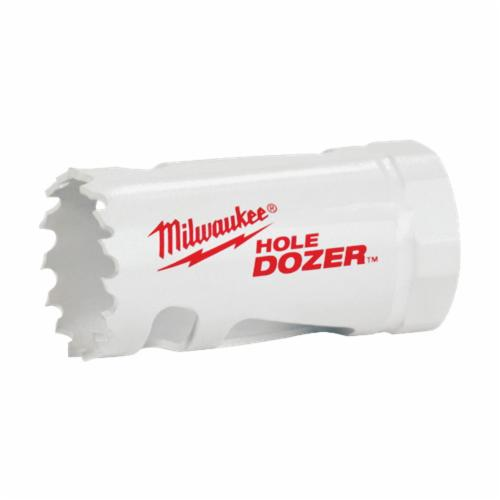 Milwaukee® 49-22-4005 Hole Dozer™ General Purpose Hole Saw Kit, 9 Pieces, For Use With 49-56-7210, 49-56-7240, 49-56-7250 and 49-56-9100 Quick-Change Arbor, Bi-Metal/HSS