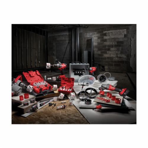 Milwaukee® 49-22-4145 Hole Dozer™ Plumber's Hole Saw Kit, 10 Pieces, For Use With 49-56-7210, 49-56-7240, 49-56-7250 and 49-56-9100 Quick-Change Arbor, Bi-Metal/HSS