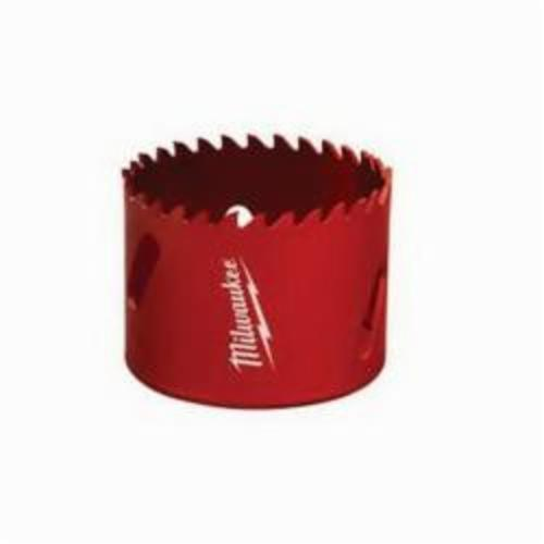 Milwaukee® 49-56-3753 Hole Saw, 3-3/4 in Dia, 1-5/8 in D Cutting, Tungsten Carbide Cutting Edge