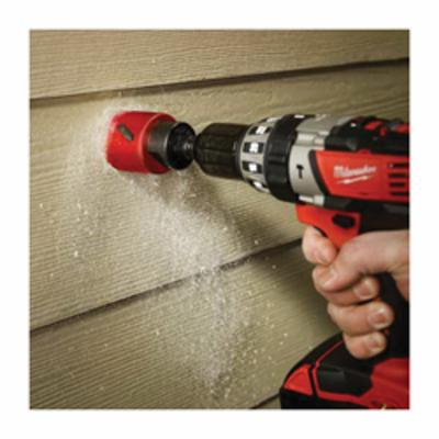 Milwaukee® 49-56-3623 Straight Pitch Hole Saw, 3-5/8 in Dia, 1-5/8 in D Cutting, Tungsten Carbide Cutting Edge
