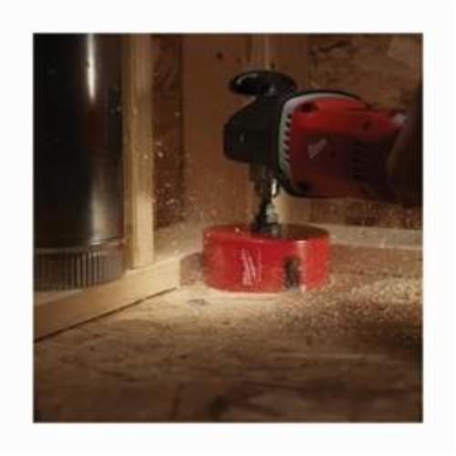 Milwaukee® 49-56-9065 Big Hawg® 49-56 Hole Cutter, 6-1/4 in Dia, 2-1/4 in D Cutting, Carbide Cutting Edge, 5/8-18 Arbor