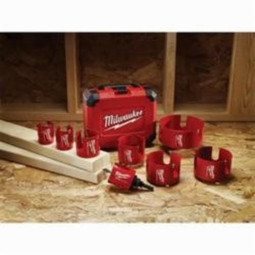 Milwaukee® 49-56-9045 Big Hawg® 49-56 Hole Cutter, 4-1/4 in Dia, 2-1/4 in D Cutting, Carbide Cutting Edge, 5/8-18 Arbor