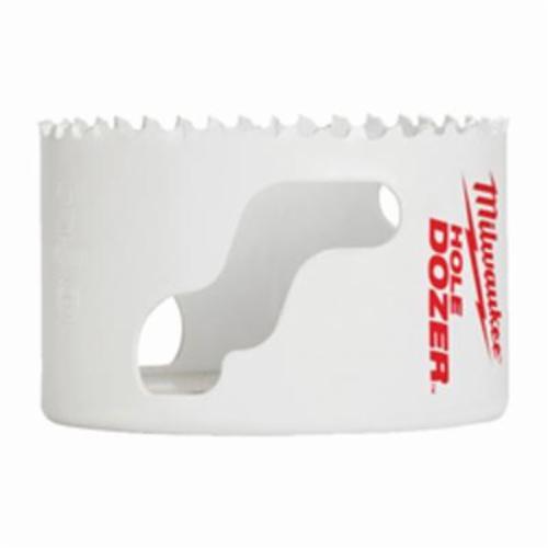 Milwaukee® 49-56-9620 Hole Dozer™ 49-56 Hole Saw, 1-11/16 in Dia, 1-5/8 in D Cutting, Bi-Metal/Cobalt Cutting Edge, 3/8 in Arbor