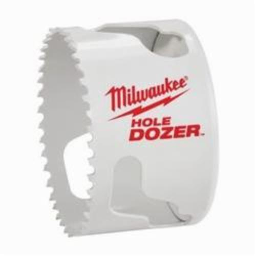 Milwaukee® 49-56-9637 Hole Dozer™ 49-56 Hole Saw, 3 in Dia, 1-5/8 in D Cutting, Bi-Metal/8% Cobalt Cutting Edge