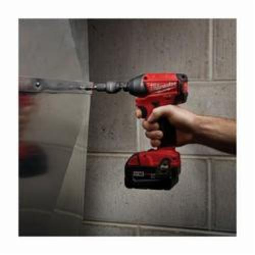 Milwaukee® 49-66-4512 SHOCKWAVE™ Impact Duty Magnetic Insert Nut Driver, 1/4 in Drive, Proprietary Steel, 1/4 in Hex