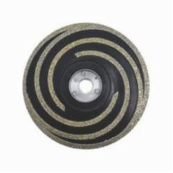 Milwaukee® 49-93-6992 Grinding Wheel, 5 in Dia x 1/4 in THK, 5/8-11 Center Hole, 20/25 Grit, Fine Grade, Diamond Abrasive