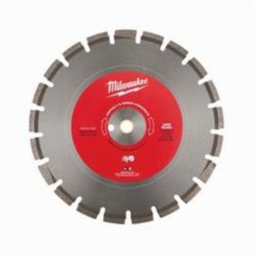 Milwaukee® 49-93-7240 Circular Segmented Diamond Saw Blade, 14 in Dia Blade, 1 in, 1/8 in W, Dry/Wet Cutting