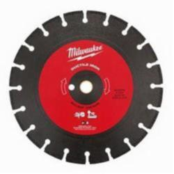 Milwaukee® 49-93-7335 Segmented Diamond Saw Blade, 12 in Dia Blade, 1 in, 0.11 in W, Dry/Wet Cutting