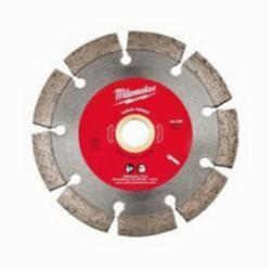 Milwaukee® 49-93-7405 Segmented Diamond Point Tuck Blade, 4-1/2 in Dia Blade, 5/8 to 7/8 in, 1/4 in W, Dry/Wet Cutting