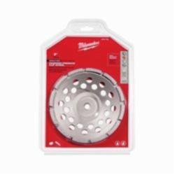 Milwaukee® 49-93-7720 Single Row Single Rim Cup Wheel, 7 in Dia, Diamond Abrasive
