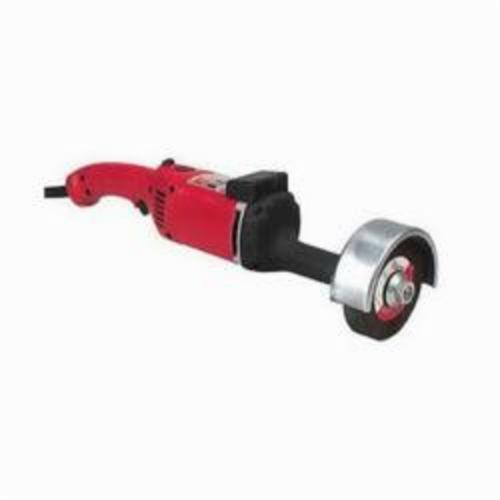Milwaukee® 5223 Pneumatic Straight Grinder, 5 in Dia Wheel, 7000 rpm Speed, 120 VAC/VDC, For Wheel: Type 5, Trigger Lock Switch