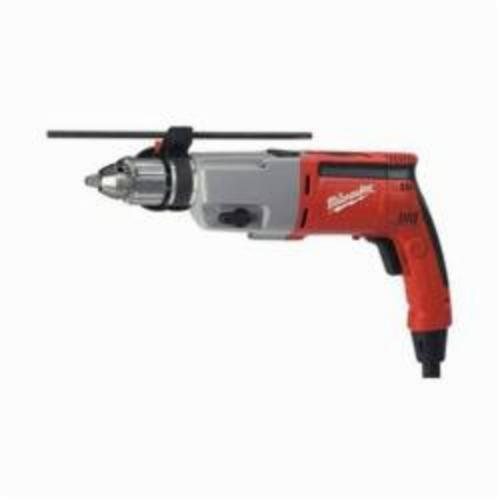 Milwaukee® 5387-22 Dual Speed Grounded Corded Hammer Drill Kit, 14-3/4 in L Keyed Chuck, 120 VAC, 14-3/4 in OAL