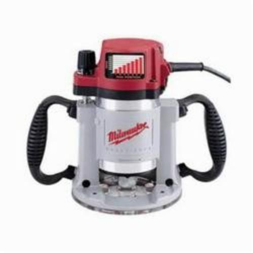 Milwaukee® 5625-20 Double Insulated Fixed Base Production Router, Electric Switch, 1/4 in, 1/2 in Chuck, 10000 to 24000 rpm Speed, 3-1/2 hp, 120 VAC