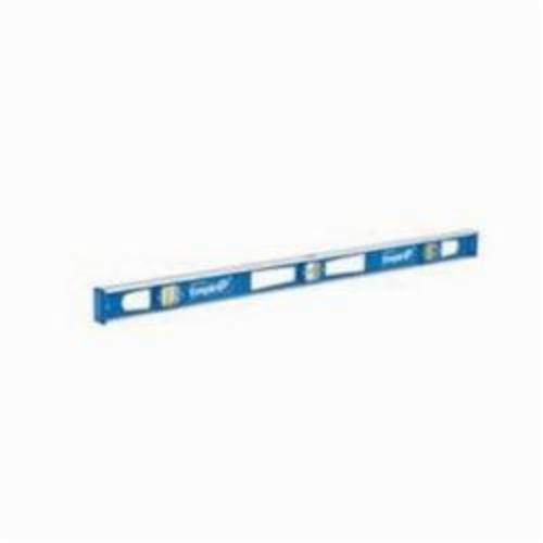 Milwaukee® Empire® 580-36 Non-Magnetic I-Beam Level, 36 in L, 3 Vials, Aluminum, (1) Level, (2) Plumb Vial Position, 0.001 in