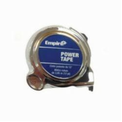 Empire® 612 Ergonomic Power Tape With Belt Clip, 12 ft L x 5/8 in W Blade, Steel, Imperial, 1/16 in