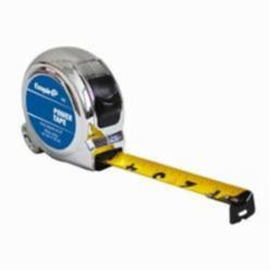 Empire® 626 Ergonomic Power Tape With Belt Clip, 25 ft L x 1 in W Blade, Steel, Imperial, 1/16 in