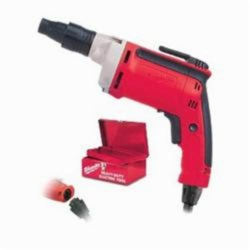 Milwaukee® 6791-21 Double Insulated Cord Remodeler's Screwdriver Kit, 1/4 in Chuck, 22 in-lb, 120 VAC, 12-1/8 in OAL