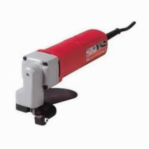 Milwaukee® 6815 Corded Electric Shear, 14 ga in Steel, 16 ga in Stainless Steel Cutting, 4000 spm, 120 VAC/VDC, 10-1/4 in OAL, Tool Only