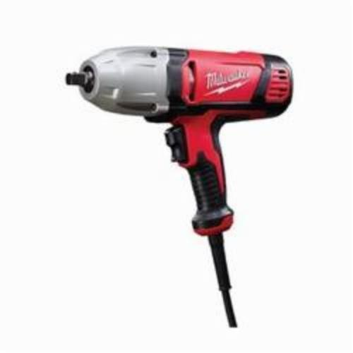 Milwaukee® 9070-20 Impact Wrench With Detent Pin Socket Retention, 1/2 in Square Drive, 0 to 2600 bpm, 300 ft-lb, 120 VAC, 11-5/8 in OAL, Tool Only