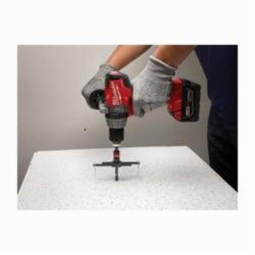 Milwaukee® 49-56-0320 Adjustable Hole Cutter, 2 to 7 in Dia Cutter, 1 in D Cutting