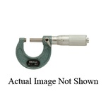 Mitutoyo 103-179 Outside Micrometer With Ratchet Stop, 2 to 3 in, Graduations: 0.001 in, Baked Enamel Coated