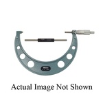 Mitutoyo 103-259 Outside Micrometer With Ratchet Stop, 0 to 1 in, Graduations: 0.001 in, Baked Enamel Coated