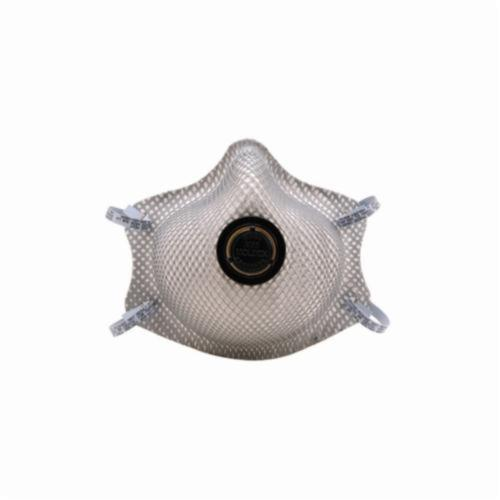Moldex® 2400N95 Disposable Particulate Respirator With Exhale Valve, M to L, Resists: Heat, Flame, Nuisance Organic Vapors and Non-Oil Based Particulates
