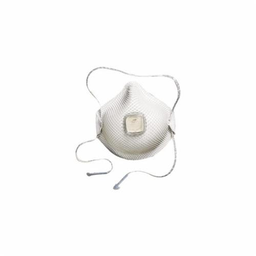 **See special price in cart - Moldex® 2700N95 Disposable Particulate Respirator With Ventex® Valve, M to L, Resists: Heat, Humidity and Non-Oil Based Particulates