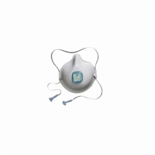 Moldex® 2730N100 Disposable Particulate Respirator With Ventex® Valve, M to L, Resists: Heat, Flame and Non-Oil Based Particulates