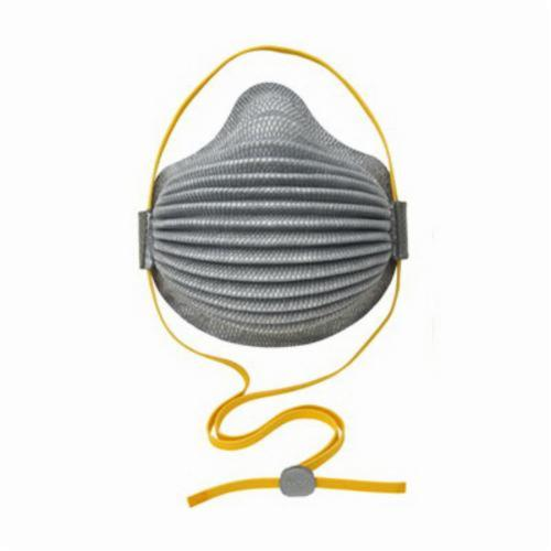Moldex® 4800 N95 AirWave® Disposable Particulate Respirator With Full Foam Faceseal, M to L, Resists: Oil-Free Particulates