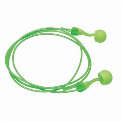 Moldex® 6945 Glide® Multi-Use Earplugs, 30 dB Noise Reduction, Round Shape, ANSI S3.19-1974, Disposable, Corded Design