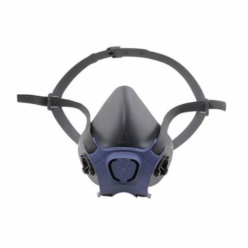 Moldex® 7001 7000 Half Mask Respirator, S, Yolk/Cradle Suspension, Bayonet Connection