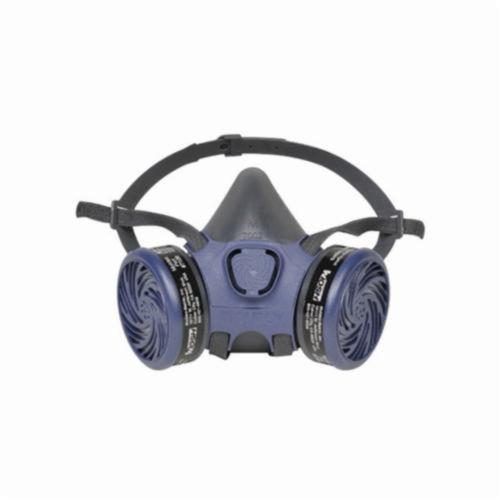 Moldex® 7113 7000 Half Mask Respirator, L, Adjustable Strap Suspension, Bayonet Connection, Resists: Organic Vapors