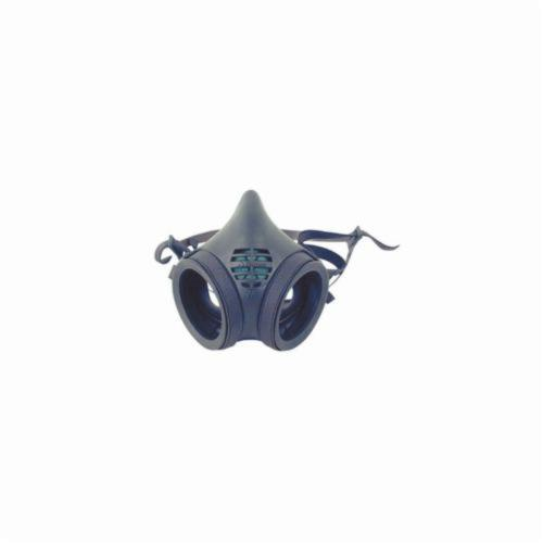 Moldex® 8002 8000 Probed Reusable Half Mask Respirator, M, Yolk/Cradle Suspension, Snap-In Gasket Connection