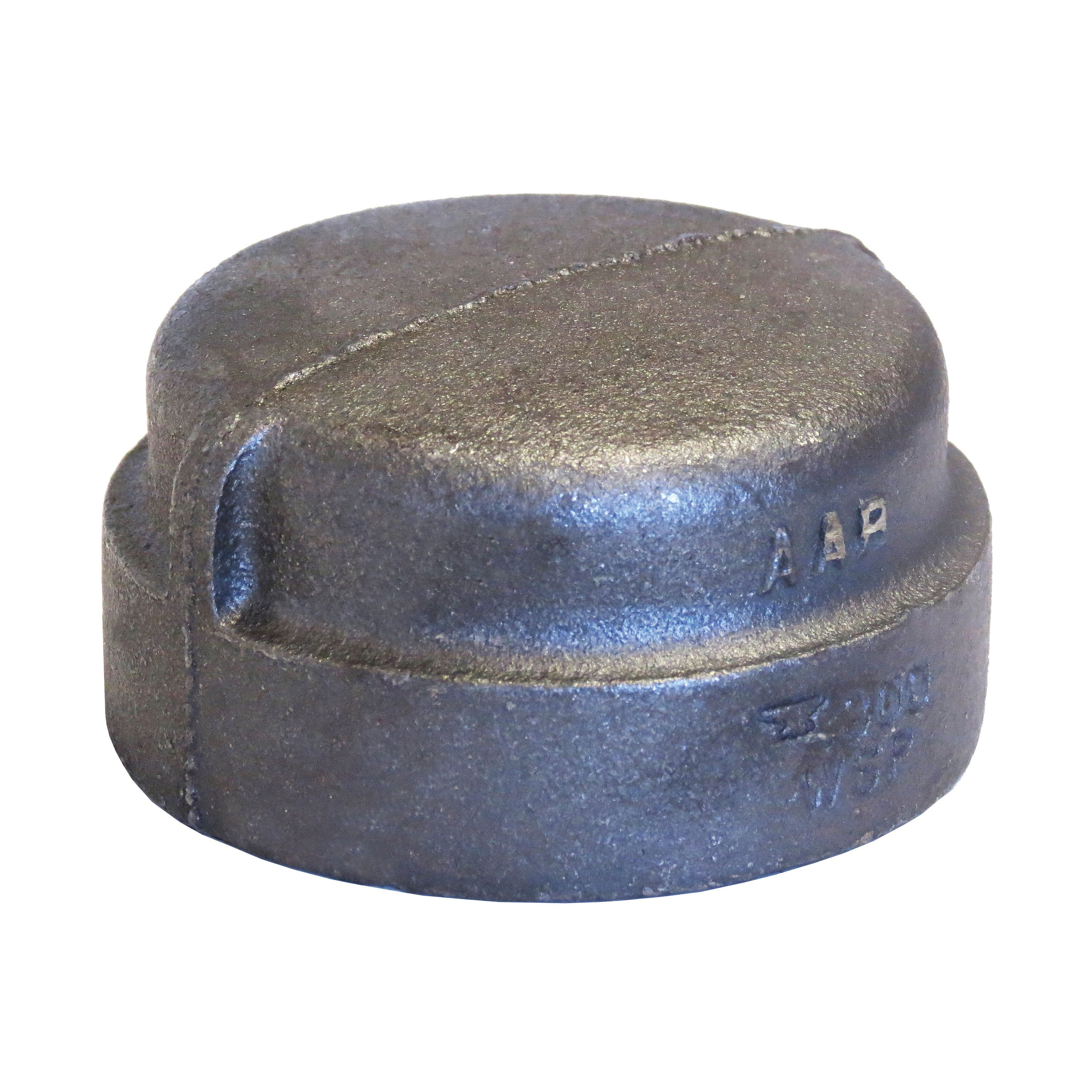 Anvil® 0318901303 FIG 1163 Pipe Cap, 1/2 in Nominal, FNPT End Style, 300 lb, Malleable Iron, Black Oxide, Domestic