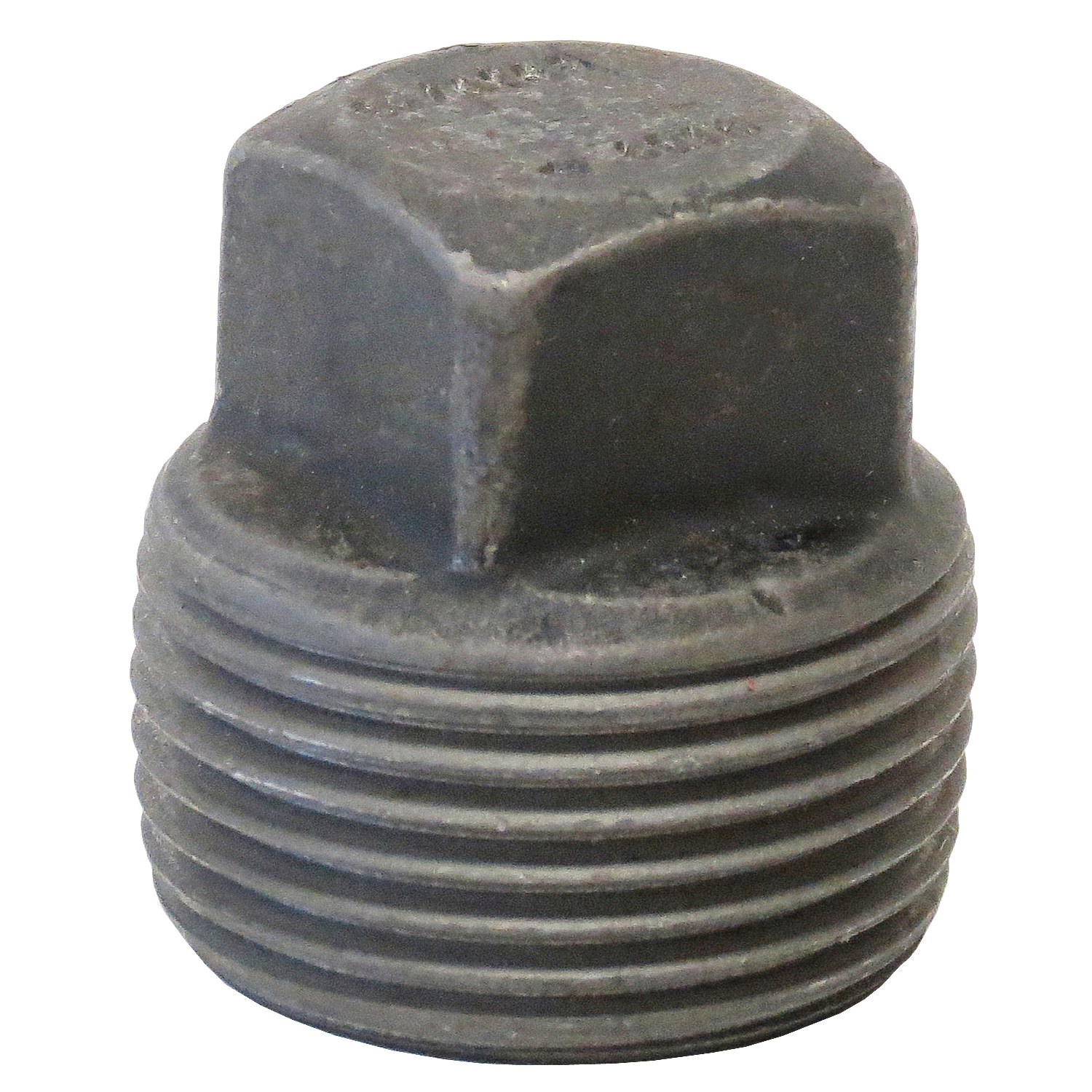 Anvil® 0361301609 FIG 2122 Square Head Pipe Plug, 1-1/2 in Nominal, MNPT End Style, 3000 lb, Steel, Black Oxide, Domestic
