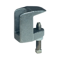 Anvil® 0500009246 FIG 94 Wide Throat Top Beam C-Clamp With Lock Nut, 3/4 in Rod, 1600 lb Load, Ductile Iron, Black Oxide