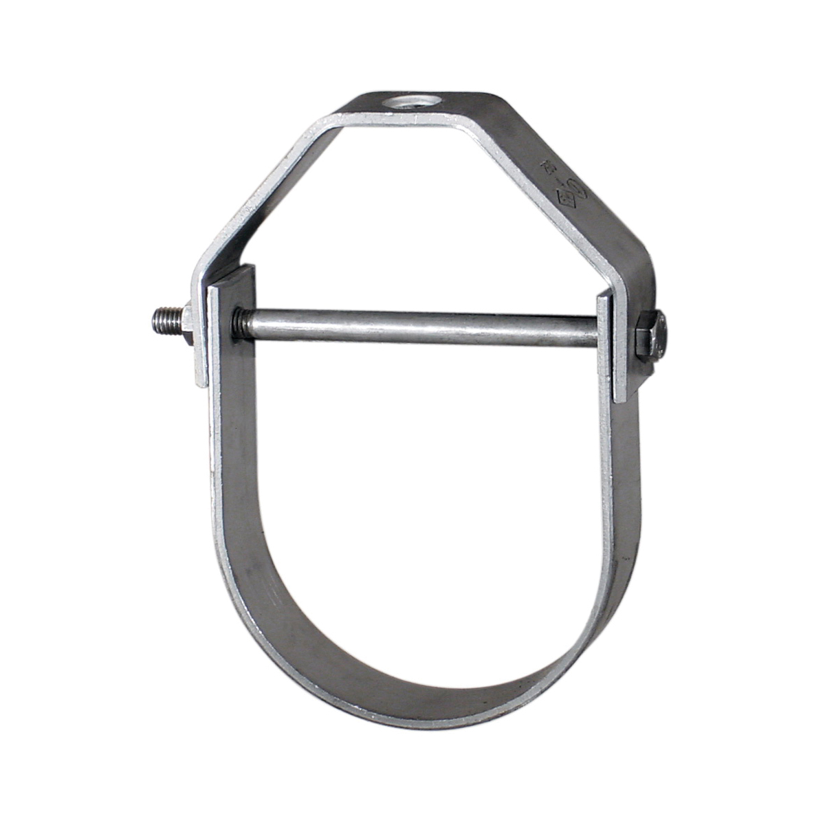 Anvil® 0500359583 FIG 260 Adjustable Clevis Hanger, 2-1/2 in Pipe, 1/2 in Rod, 1350 lb Load, Carbon Steel, Galvanized
