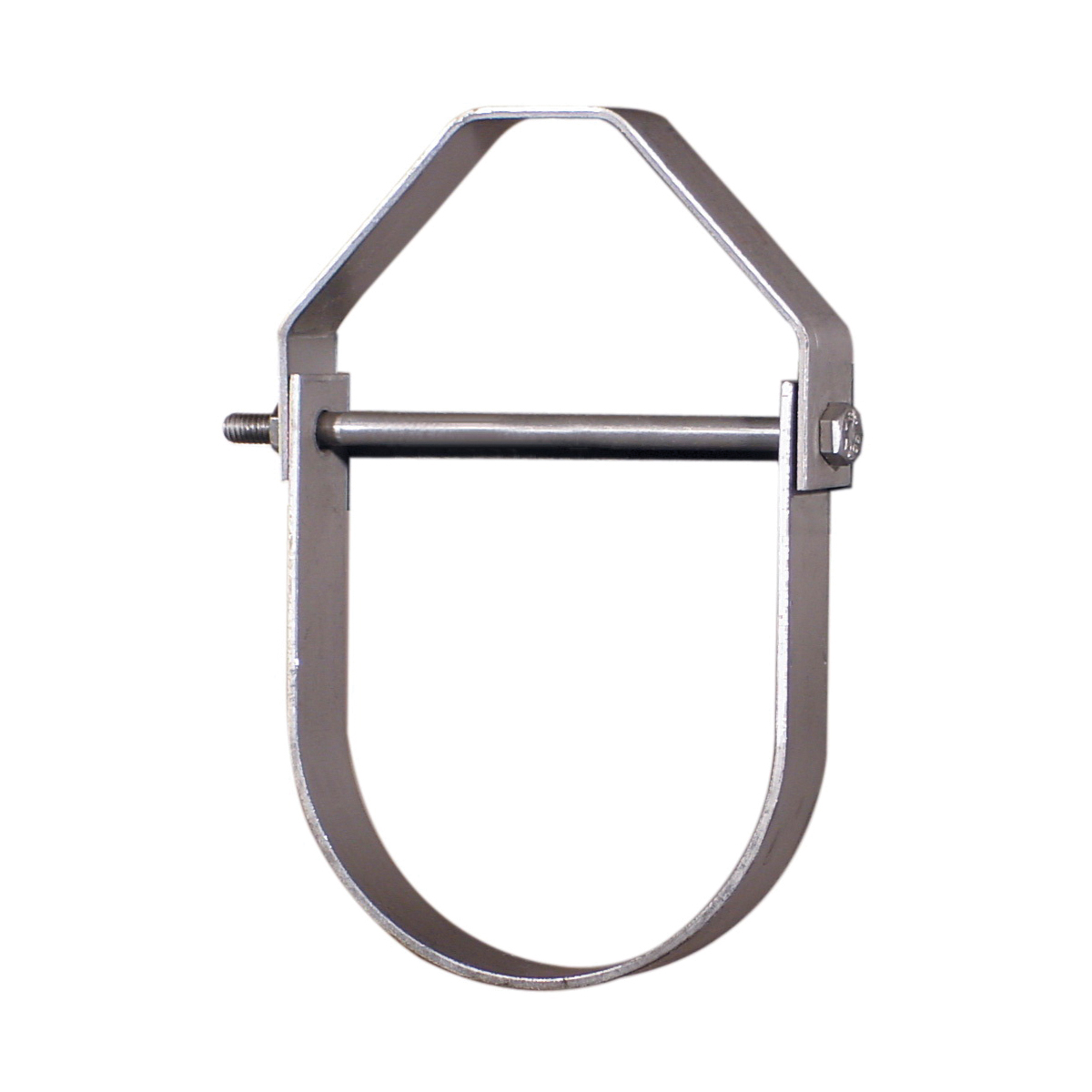 Anvil® 0560299828 FIG 65 Adjustable Clevis Hanger, 3/4 in Pipe, 3/8 in Rod, 250 lb Load, Carbon Steel, Galvanized