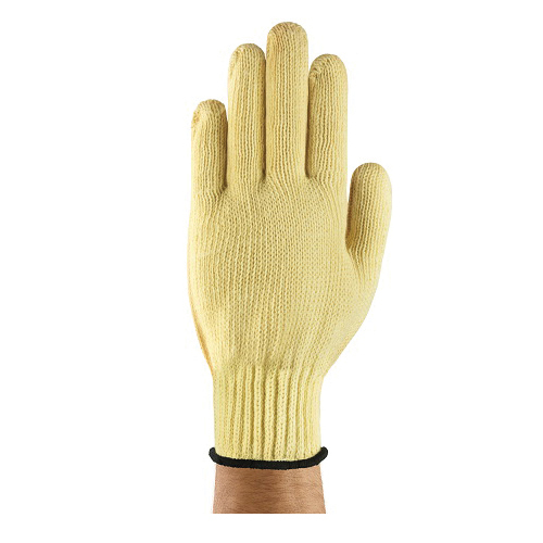 Neptune® 222124 70-215 Heavy Duty Cut Resistant Gloves, SZ 9, Uncoated Coating, DuPont™ Kevlar®, Knit Wrist Cuff, Resists: Abrasion, Cut and Fire, ANSI Cut-Resistance Level: A3, ANSI Puncture-Resistance Level: 2