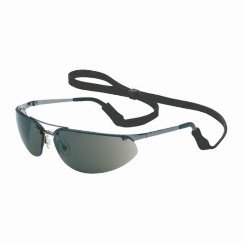 North® by Honeywell 11150801 Fuse® Safety Eyewear, Hard Coated, TSR Gray Lens, Wrap Around Frame, Gunmetal, Metal Frame, Polycarbonate Lens, ANSI Z87.1-2010, CSA Z94.3, AS/NZS 1337