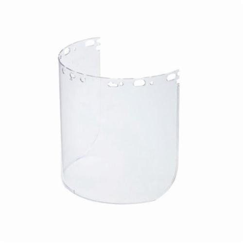 North® by Honeywell 11390044 Faceshield Replacement Visor, Clear, Propionate, 8-1/2 in H x 15 in W x 5/64 in THK Visor, For Use With Protecto-Shield Faceshields, Specifications Met: ANSI Z87+, CSA Z94.3