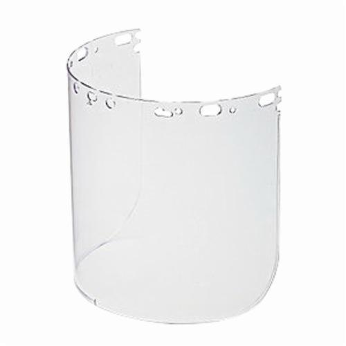 North® by Honeywell 11390064 Faceshield Replacement Visor, Clear, Propionate, 8-1/2 in H x 15 in W x 5/64 in THK Visor, For Use With Protecto-Shield Faceshields, Specifications Met: ANSI Z87+, CSA Z94.3