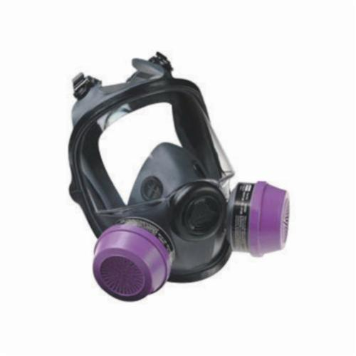 North® by Honeywell 54001W Standard Full Face Respirator With Welding Attachment, L/M, 4-Strap Suspension, Resists: Airborne Particulates, Chemical, Contamination, Gas, Vapors and Smoke