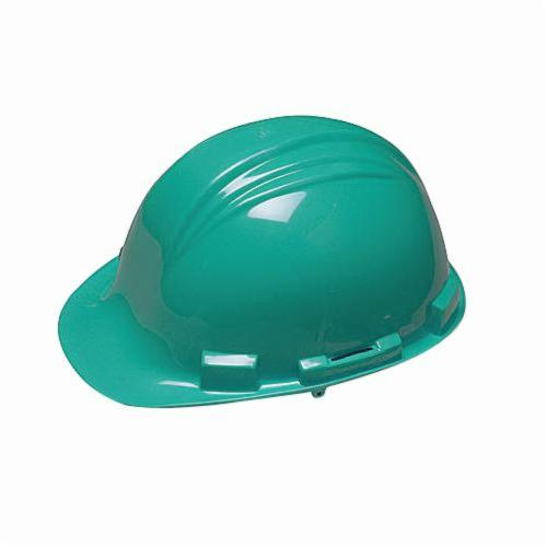 North® by Honeywell A79040000 Peak Front Brim Hard Hat, SZ 6-1/2 Fits Mini Hat, SZ 8 Fits Max Hat, HDPE, 4-Point Nylon Suspension, ANSI Electrical Class Rating: Class E, ANSI Impact Rating: Type I, Pin Lock Adjustment